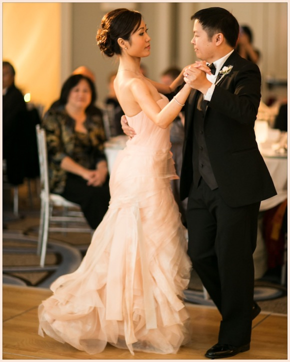 Preowned Wedding Gown: Vera Wang Wedding From Anna And Spencer