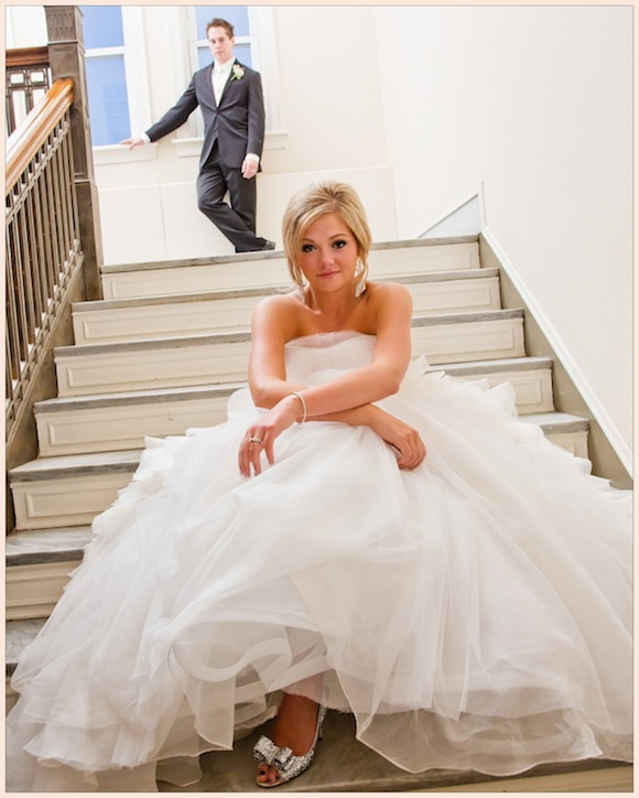 Preowned Wedding Gown: Vera Wang Wedding From Curtis Round