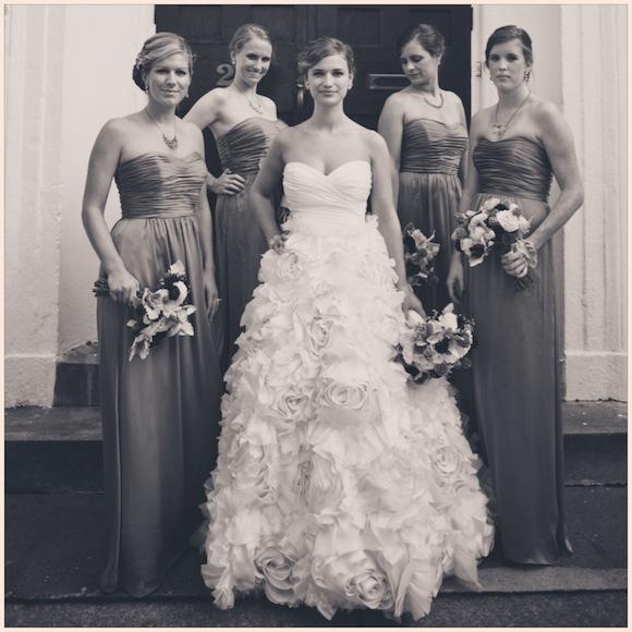 Tess + Rob | Monique Lhuillier Wedding from Juliet Elizabeth Photography