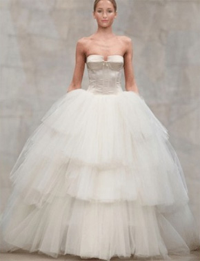 reem acra wedding dress - preownedweddingdresses.com