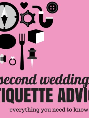 second wedding etiquette advice