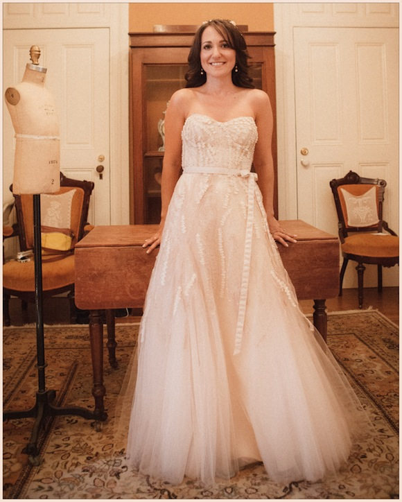 Used Wedding Gowns: Monique Lhuillier Wedding From Bryan And