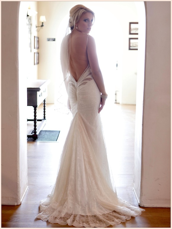 Brooke pedro inbal dror wedding from studio west elite for Inbal dror used wedding dress