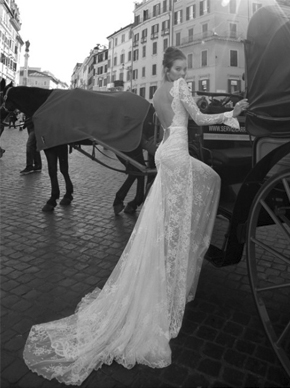Inbal-Dror BR 12-6, for sale on PreOwnedWeddingDresses.com