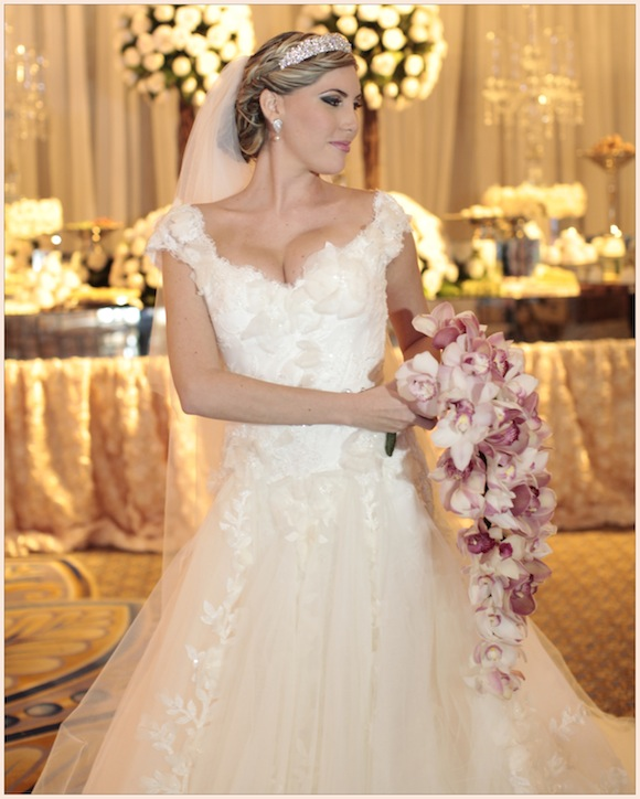 Mariella andres elie saab wedding from josua degel for Elie saab wedding dress for sale