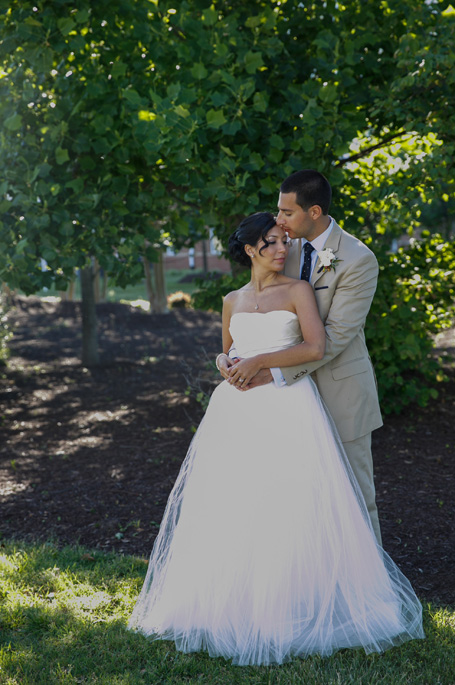 Christina + Greg | Amsale Wedding from Inspired Photography by Susie and Becky