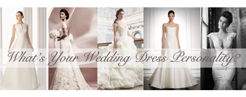 What's Your Wedding Dress Personality?
