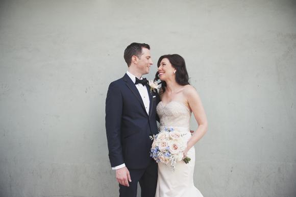 Amanda  + Joel | Lazaro Wedding by Lauren Carroll Photography on PreOwnedWeddingDresses.com