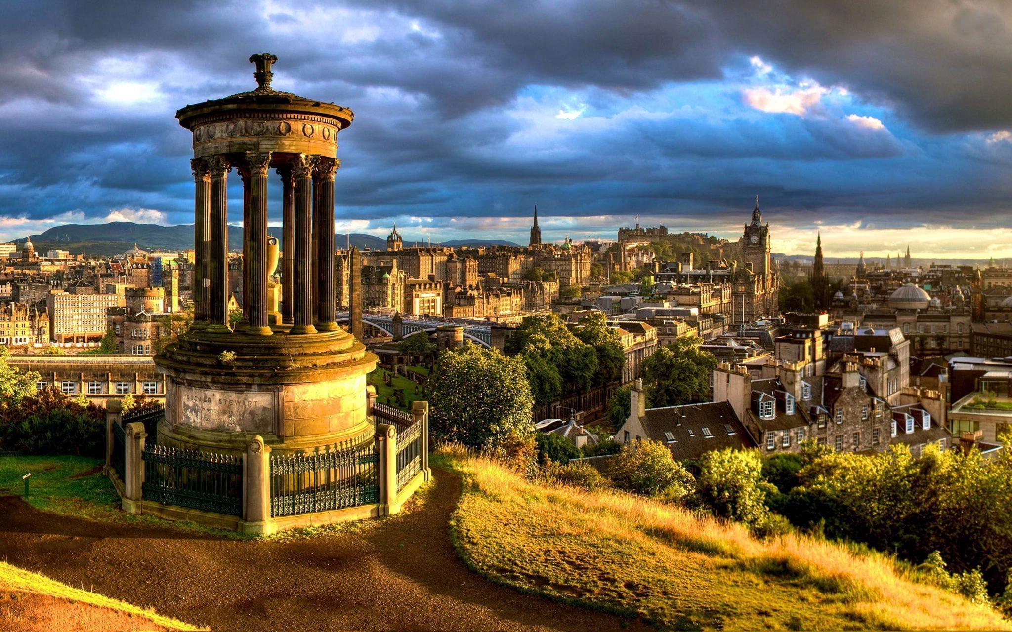 Edinburgh honeymoon