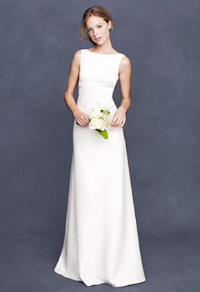 JCrew Percy | PreOwnedWeddingDresses.com