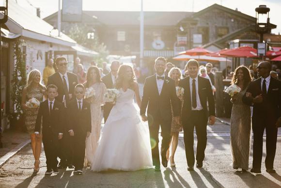 Joy + Devin | Monique Lhuillier Wedding from We Laugh We Love | PreOwnedWeddingDresses.com
