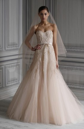 Monique lhuillier designer profile preownedweddingdresses com