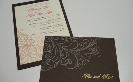 Wording Second Wedding Invitations – Parents Hosting