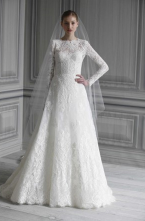 Monique Lhuillier Catherine | used wedding dresses for sale