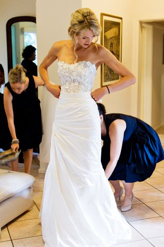 older bride wedding dress
