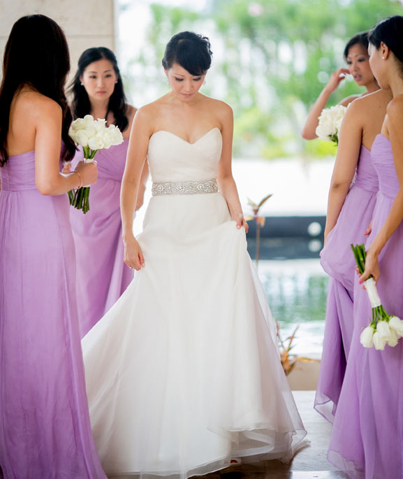 Preowned Wedding Gown: Amsale Wedding Dress Inspiration