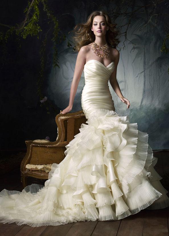 Lazaro 3050   used wedding dresses on PreOwnedWeddingDresses.com