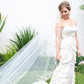 Lazaro 3059, used wedding dress for sale on PreOwnedWeddingDresses.com