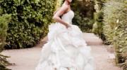 Lazaro 3213 used wedding dress for sale on PreOwnedWeddingDresses.com