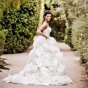 Lazaro 3213 used wedding dress for sale on PreOwnedWeddingDresses.com