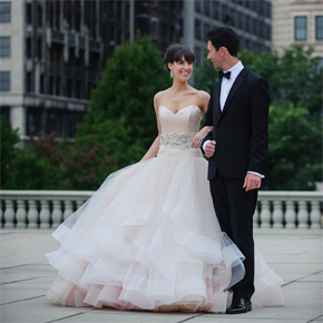 Lazaro 3250, used wedding dress for sale on PreOwnedWeddingDresses.com