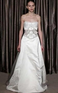 Monique Lhuillier Bianca for sale on PreOwnedWeddingDresses.com