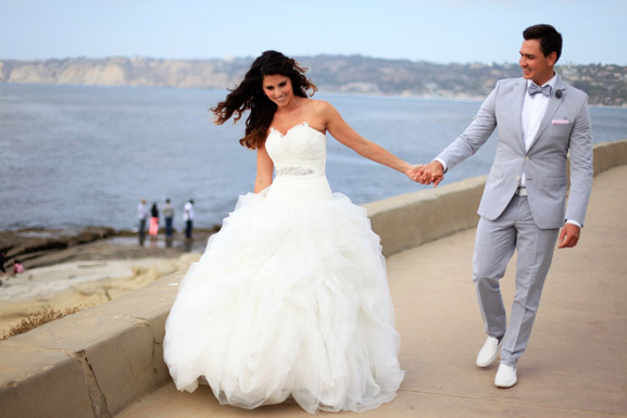 Pronovias real wedding inspiration preowned wedding dresses for Need to sell my wedding dress