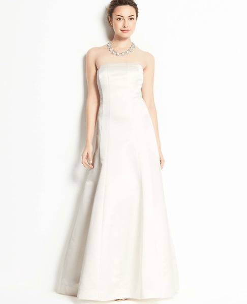 Second Wedding Gowns: Ann Taylor Collection. Perfect For Second Wedding Dresses