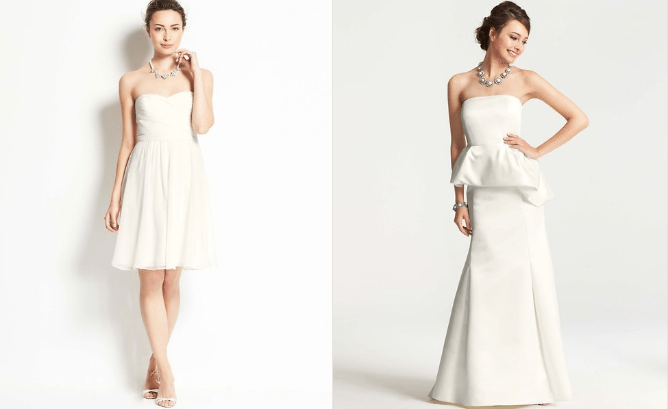 Ann Taylor Wedding Gowns: I Do Take Two Ann Taylor Collection. Perfect For Second