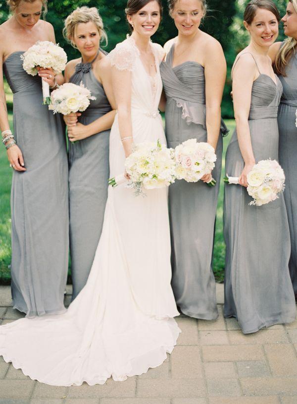 bridesmaids at vow renewal