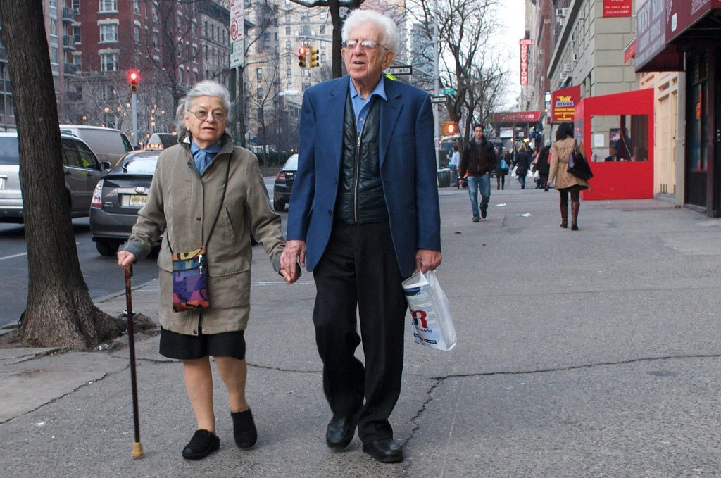 old cute couple