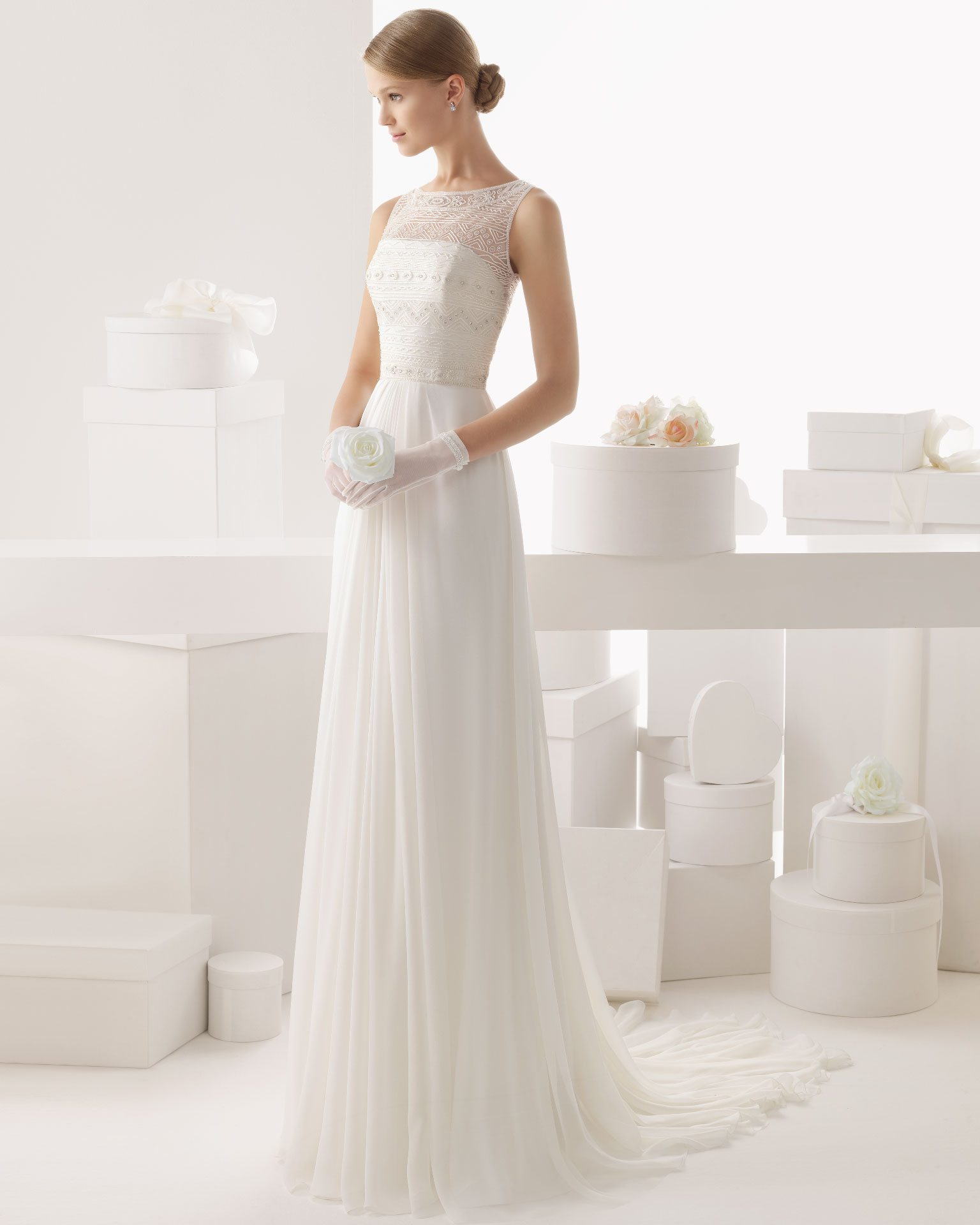 do take two second wedding dress heaven in the rosa clara 2014