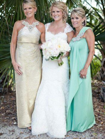 wedding dress for older bride