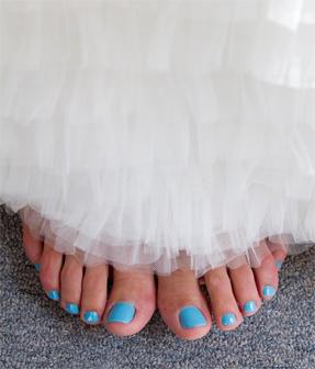 Something Blue Wedding Ideas