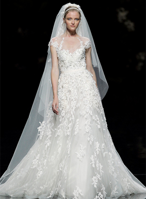 Elie Saab Monceau on PreOwnedWeddingDresses.com
