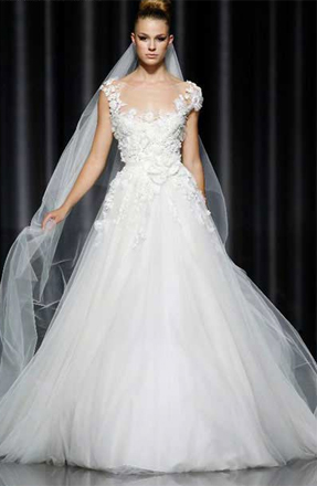 Jenna Dewan Wedding Dress Reem Acra