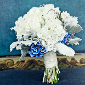 Something Blue - a hint of blue in your bouquet