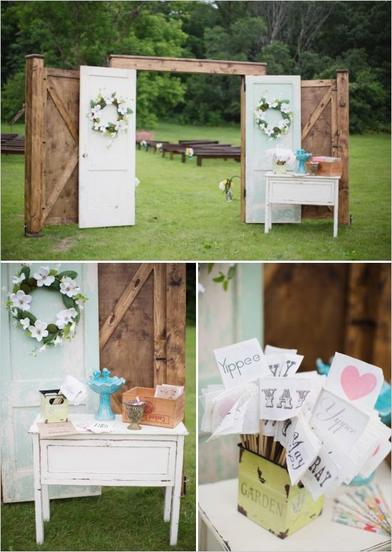 The Scene Gorgeous Ideas For Your Outdoor Vow Renewal Ceremony