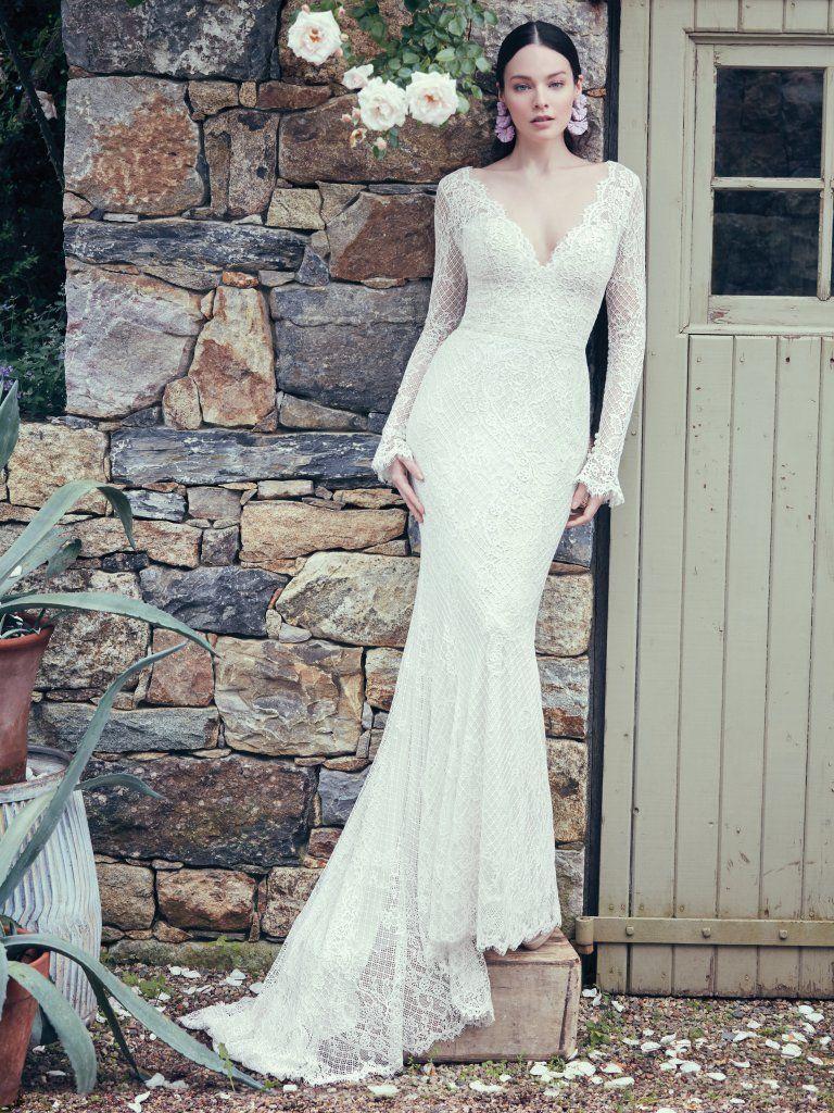 Antonia wedding gown Maggie sitters