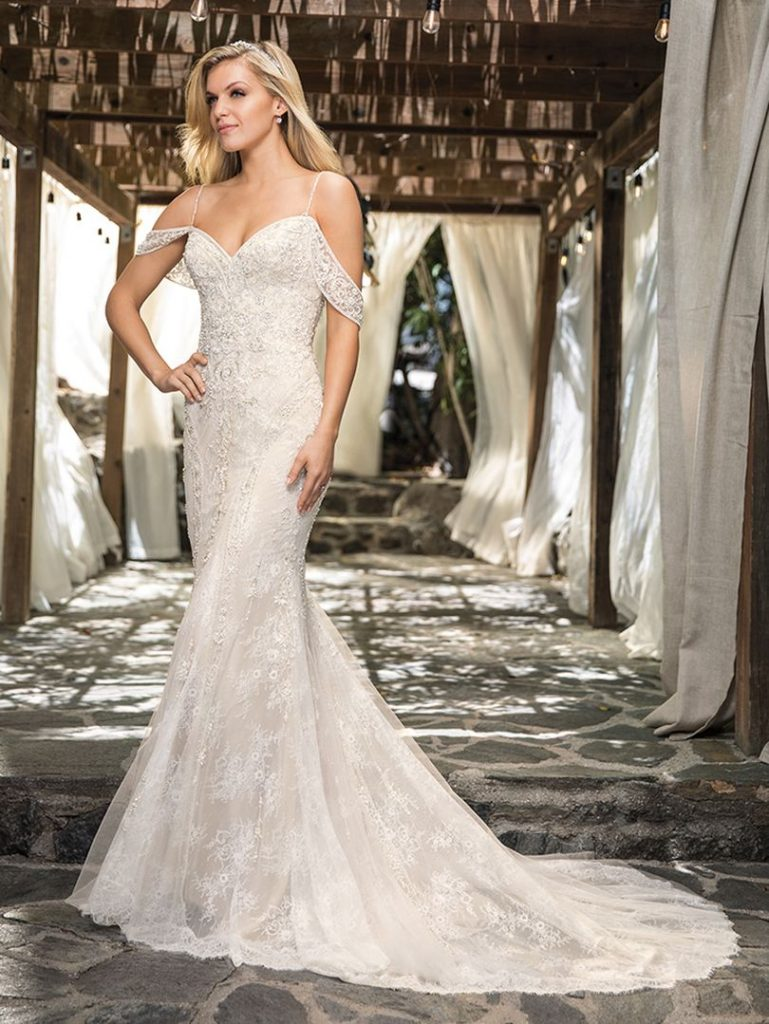 Audree Casablanca bridal dress