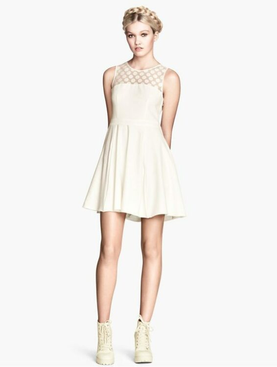 hm wedding dress
