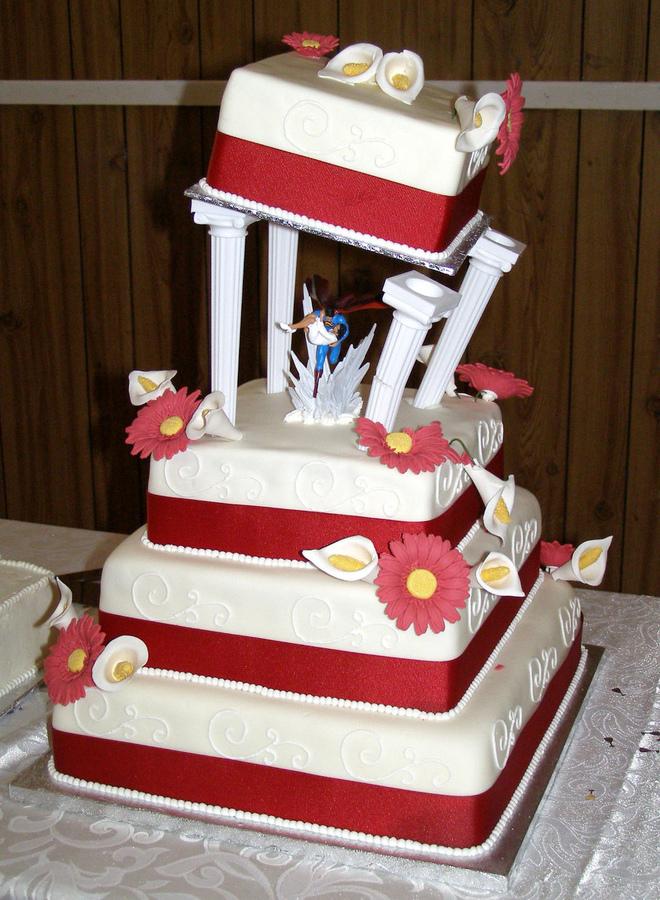 Superman Cake Stand