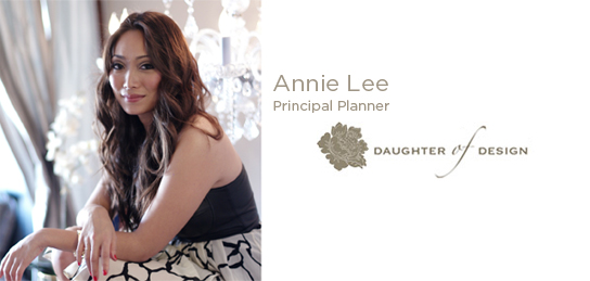 Annie Lee, Daughter of Design
