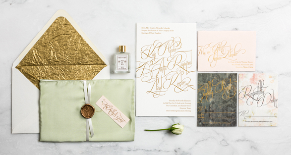 Wedding Stationery from Bliss & Bone