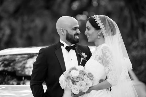 Simple Wedding Dresses Under 500: Marchesa Real Wedding Inspiration