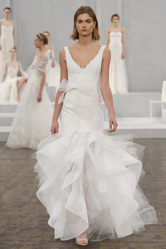 Monique lhuillier spring 2015 bridal collection preowned for Monique lhuillier wedding dress price