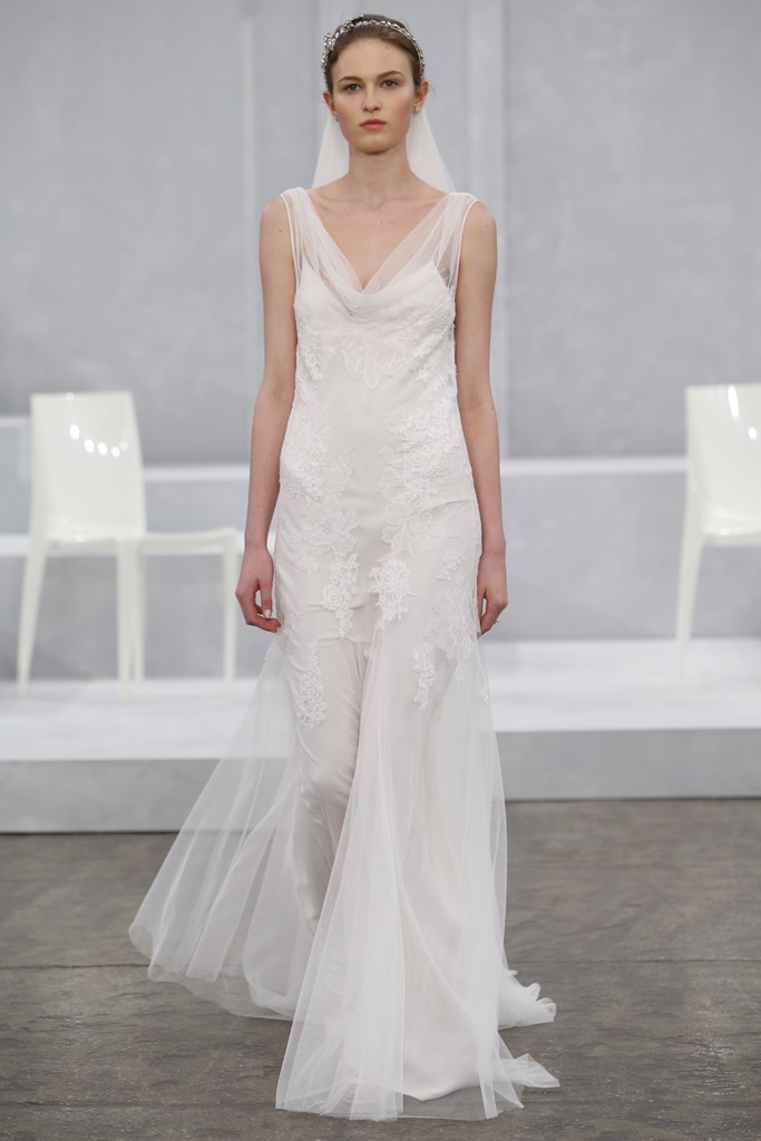 Monique Lhuillier Spring 2015 Bridal