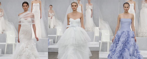 Monique Lhuillier Spring 2015 Bridal Collection
