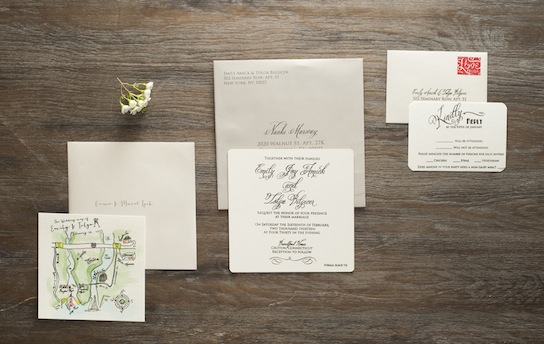 Romantic Wedding Calligraphy | PreOwnedWeddingDresses.com