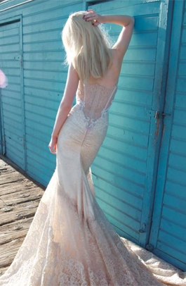 Inbal Dror 14-10 for sale on PreOwnedWeddingDresses.com